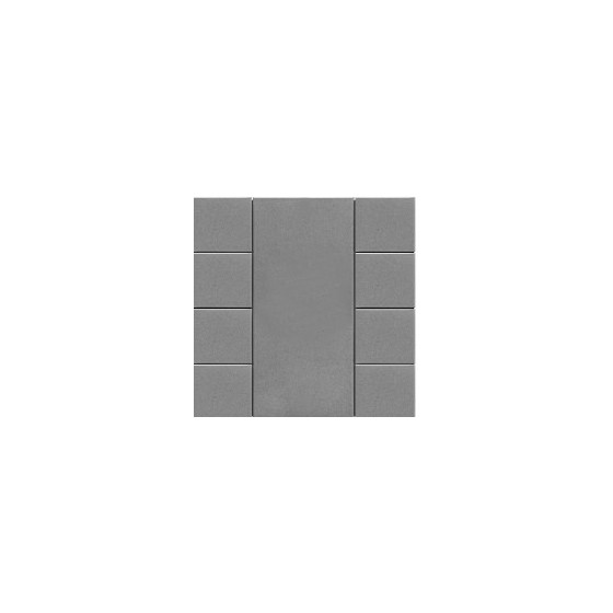 iSwitch - 8 Button Metalic Gray Plastic