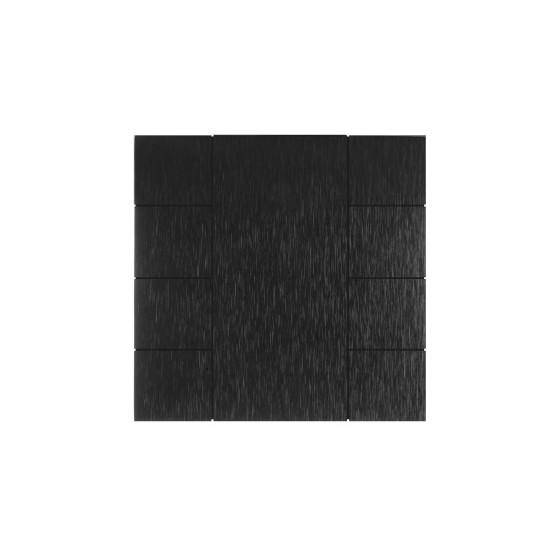 iSwitch - 8 Button Black Aluminium