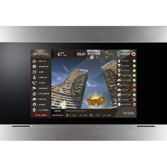 Interra 10,1'' i4 Touch-Panel
