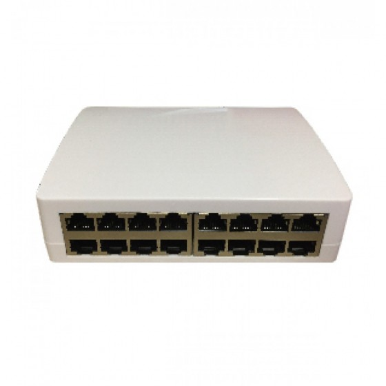 Multitek 16 PORT POE SWITCH