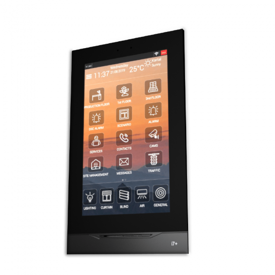 """Interra i7+ - 7"""" KNX Touch Panel - Android"""