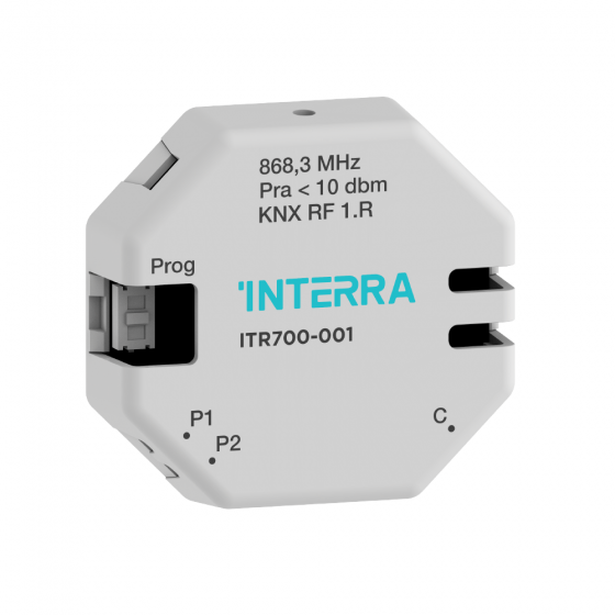 KNX RF 2 CHANNEL PUSH BUTTON INTERFACE