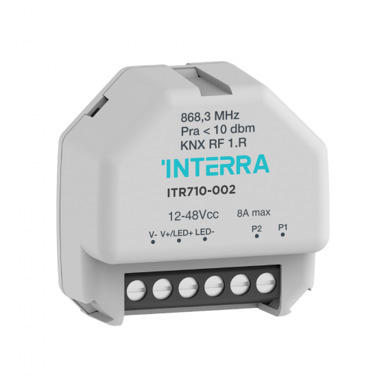 KNX RF 1 CHANNEL LED STRIP DIMMER
