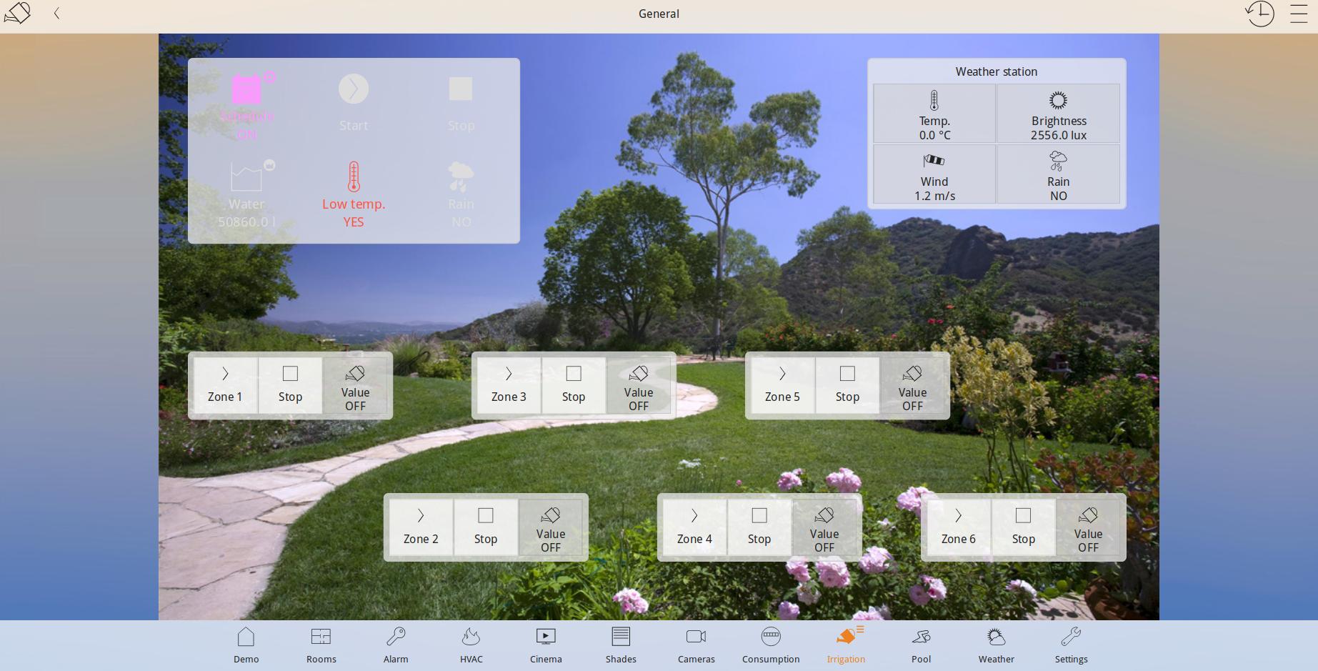 Smart home напоителна система
